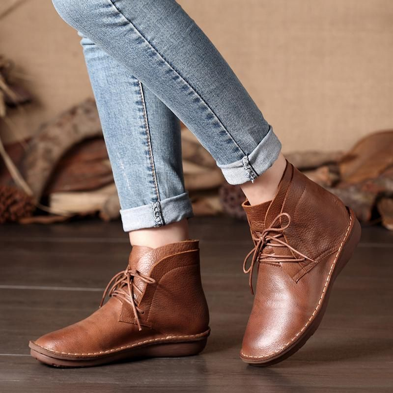 Ankle Boots For Women Brown