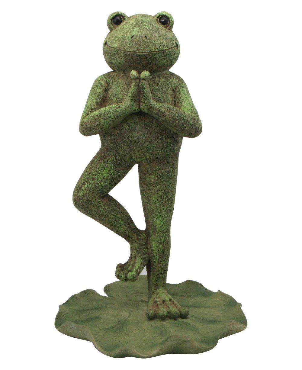 Yoga Frog Garden Statues Garden Statues Frog Decor Frog Pictures