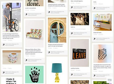 Pinterest Login, registrazione aperta