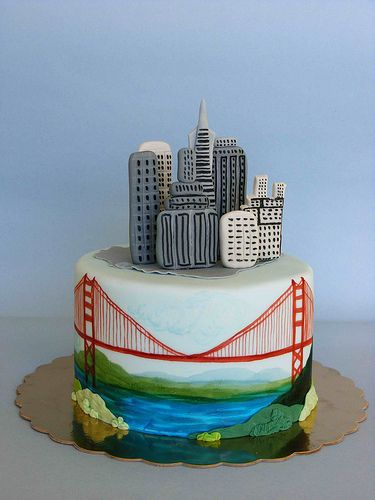 San Francisco Cake My Favorite City