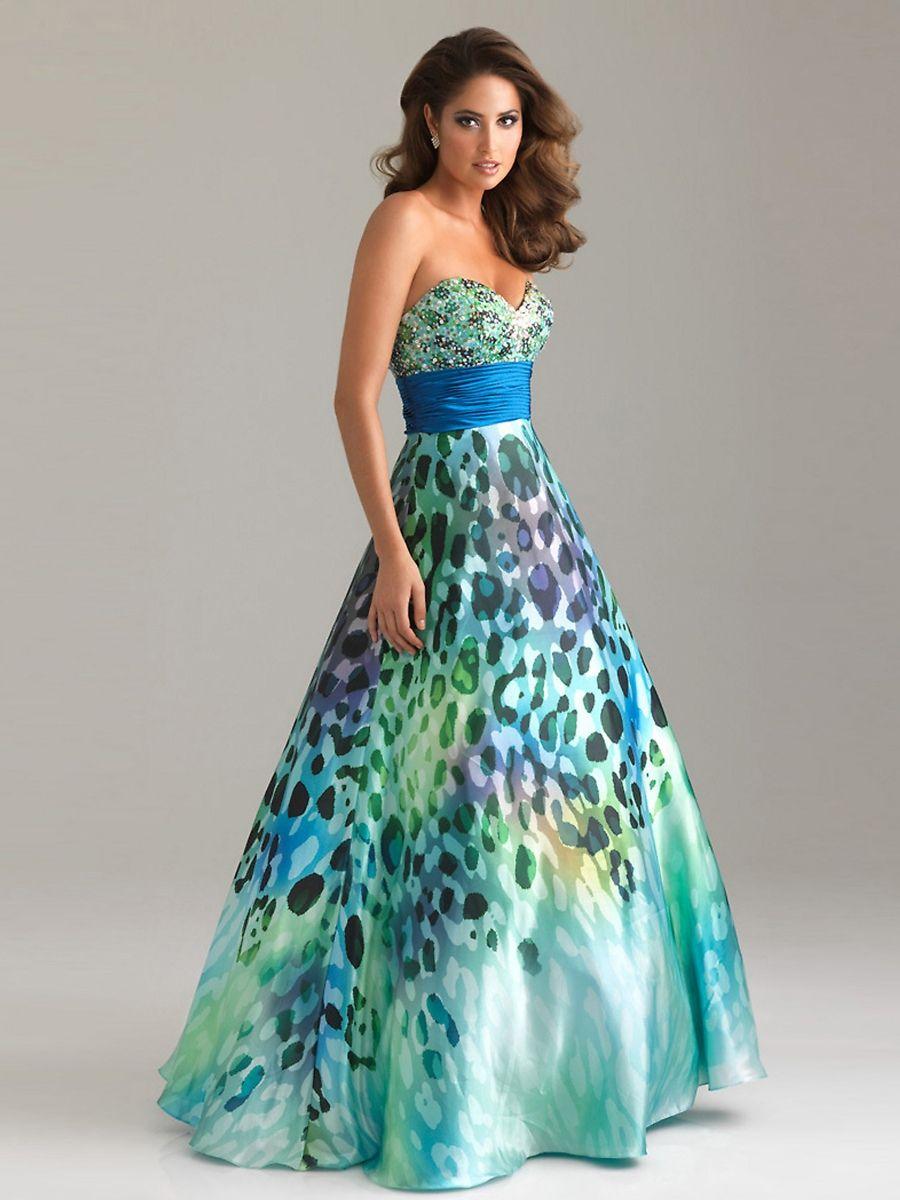 Unique Cheetah Prom Dress Pictures - All Wedding Dresses ...