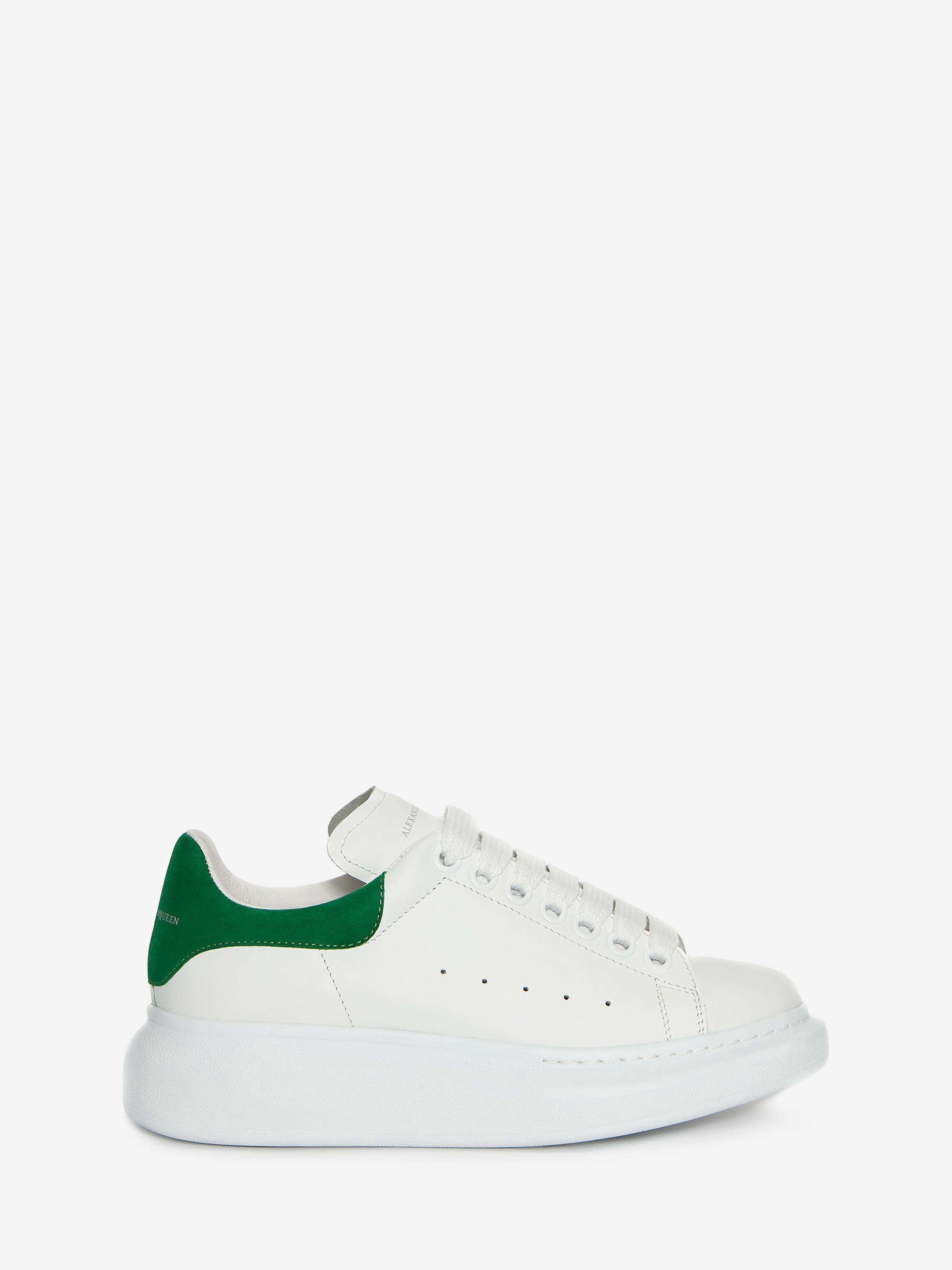 Alexander Mcqueen Oversized Sneaker Green 35 | Products