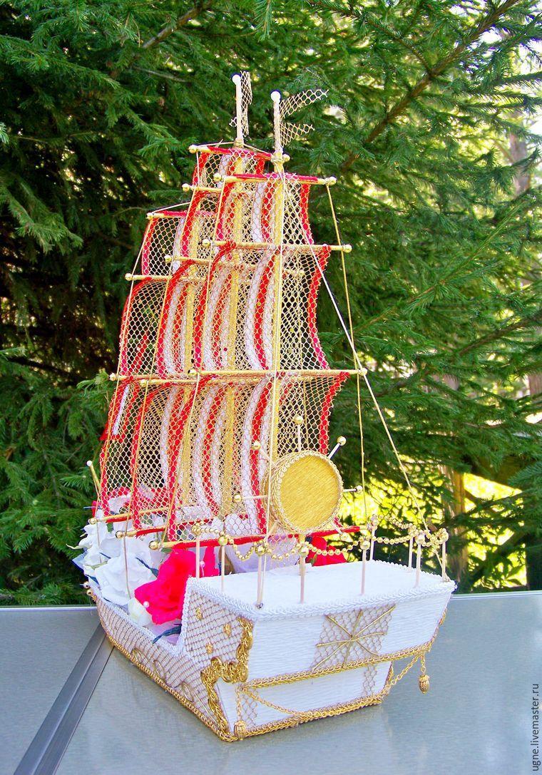 Подарки на свадьбу своими руками корабль фото 292