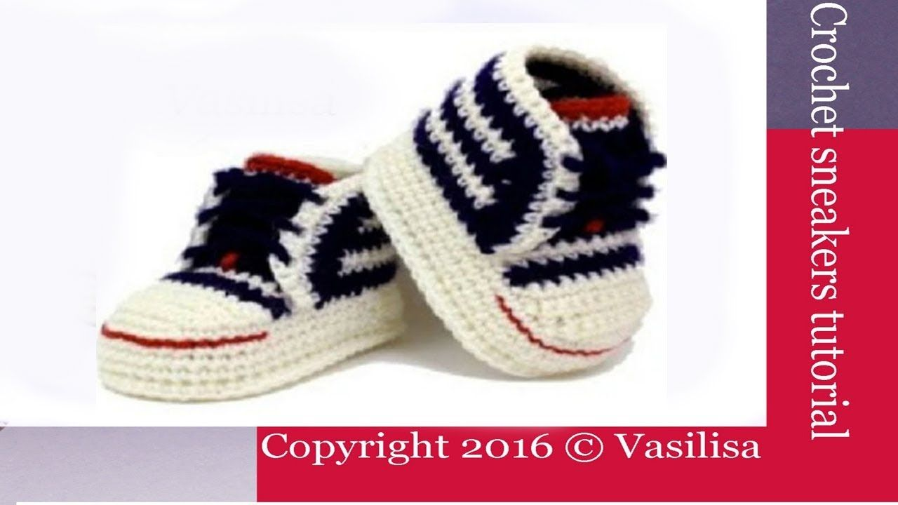 DIY crochet sneakers tutorial //Vasilisa | Amigurumi | Pinterest ...
