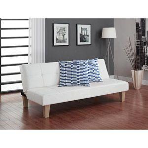 aria futon sofa bed with decorative pillows blue and white aria futon sofa bed with decorative pillows blue and white      rh   pinterest