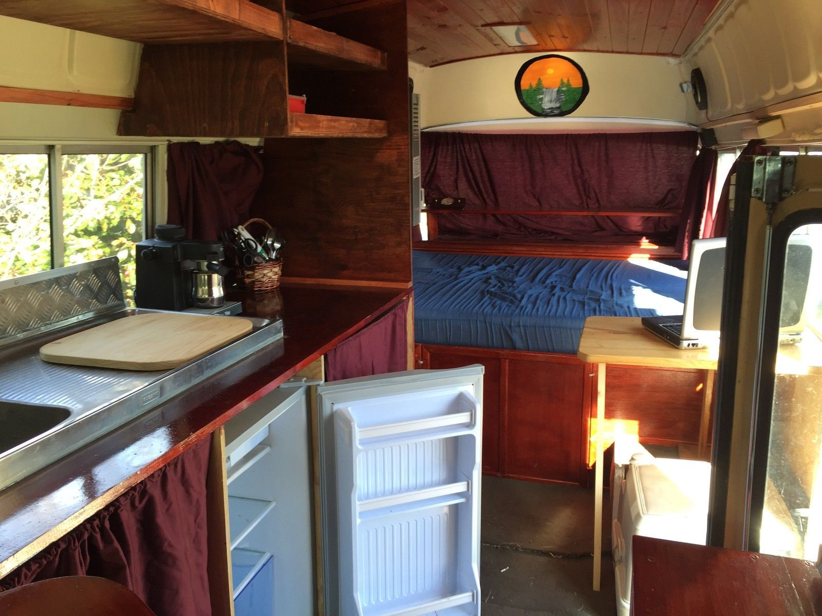 Toyota coaster campervan 1982 model lots of features in