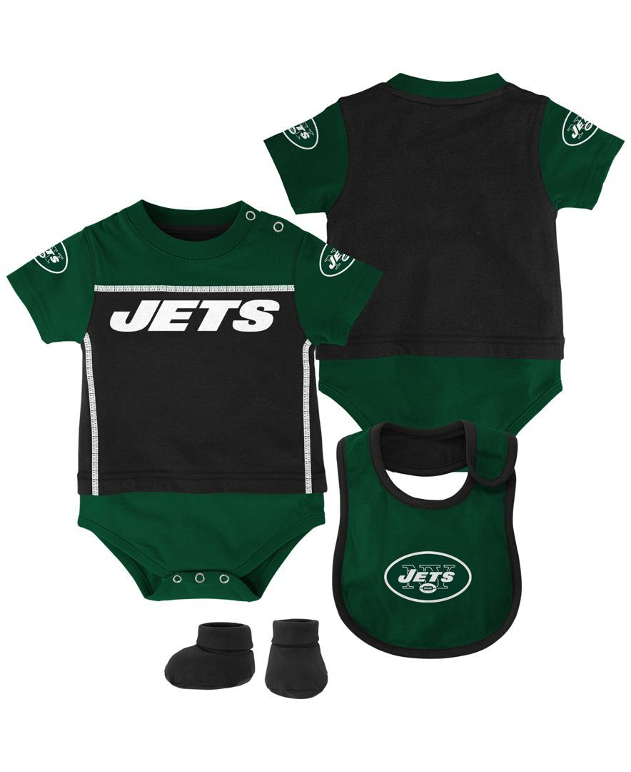 fa3860a3735c Outerstuff Babies  New York Jets Jersey Bodysuit