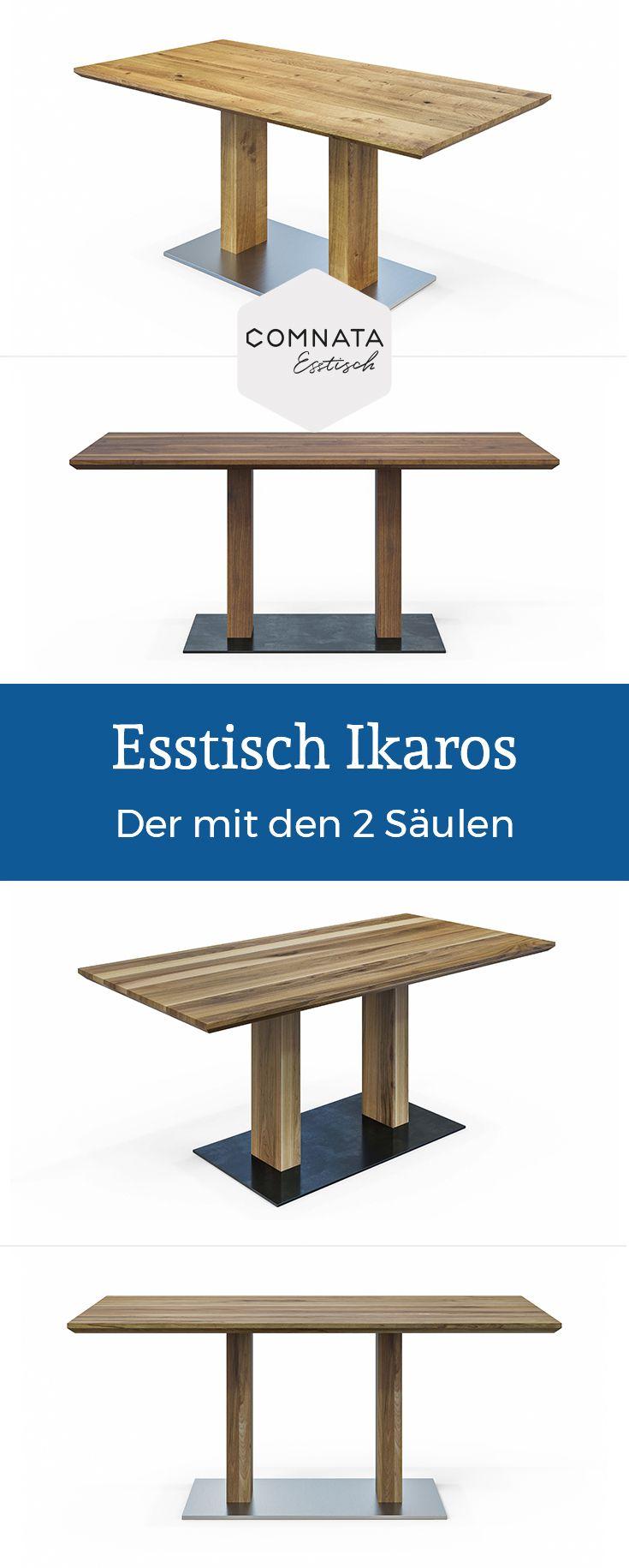 Esstisch Ikaros aus Massivholz   COMNATA Esstisch Finden sie weitere ...