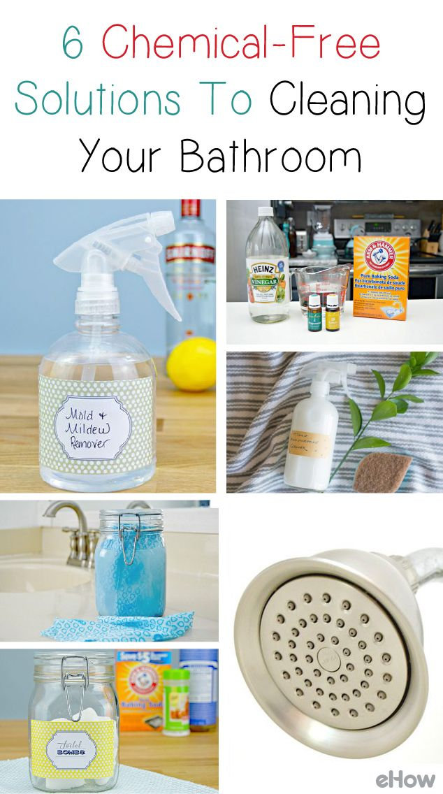6 Chemical Free Solutions To Cleaning Your Bathroom