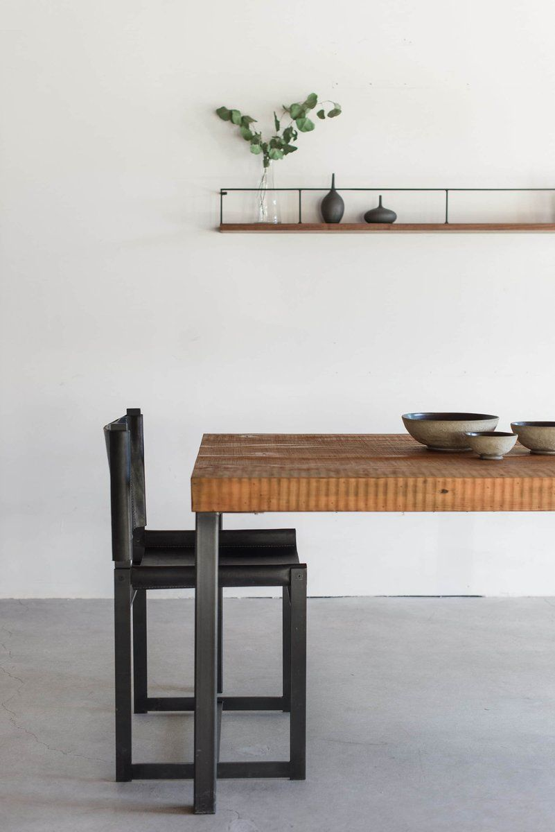 Hudson Dining Table In Situ Paloma Pottery Pinterest Los - Kitchen table los angeles