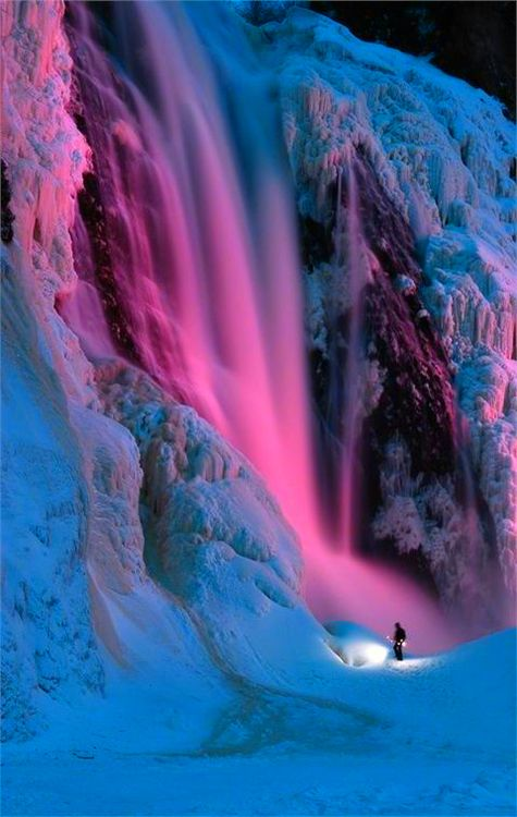 #colors #pink #blue #winter #inspiring