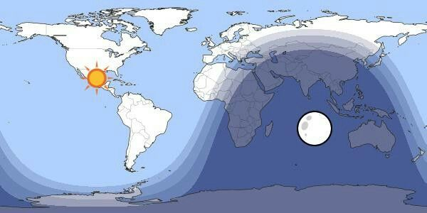 The map shows the current position of the sun and the moon it the map shows the current position of the sun and the moon it shows which gumiabroncs Choice Image