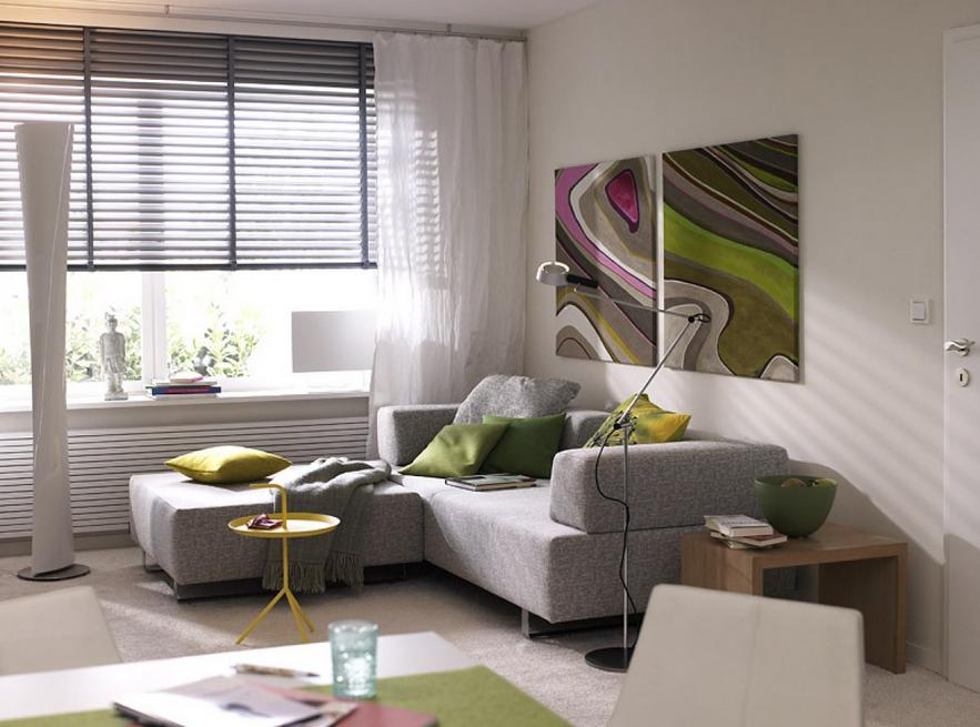 Wohnzimmer Fenster ~ Kleines wohnzimmer einrichten im geräumigen wohnzimmer fenster