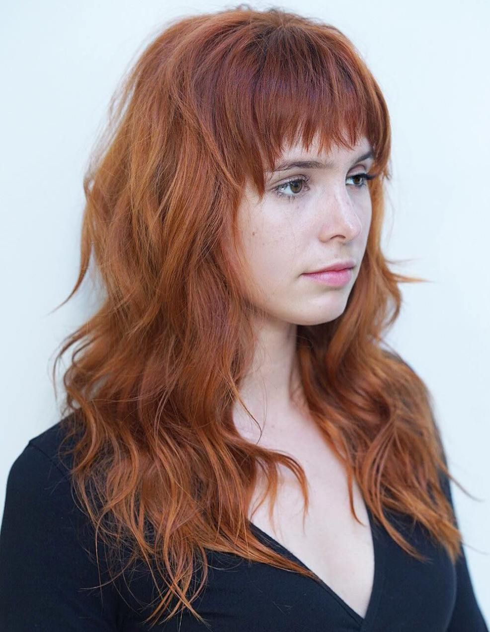 50 Lovely Long Shag Haircuts For Effortless Stylish Looks Hair