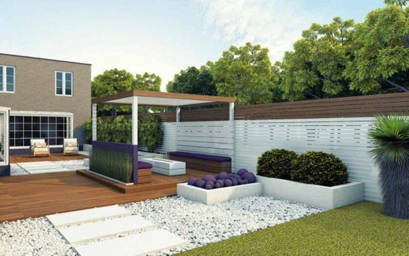 Garten Gestalten Mit Kies | Garten-ideen | Pinterest | Garten Garten Mit Patio Gestalten