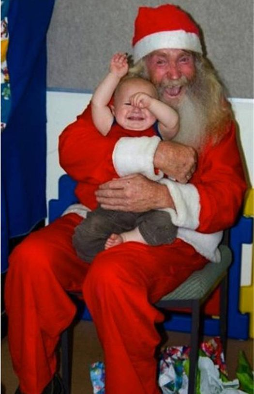 27 More Scary Creepy Santas To Sit On Team Jimmy Joe Creepy Christmas Scary Christmas Santa Claus Photos