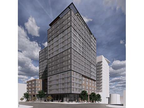 Enterprise Housing Invests 57 5m In Seattle S First Affordablehousing High Rise Rebusinessonli Multifamily Property Management Affordable Housing High Rise