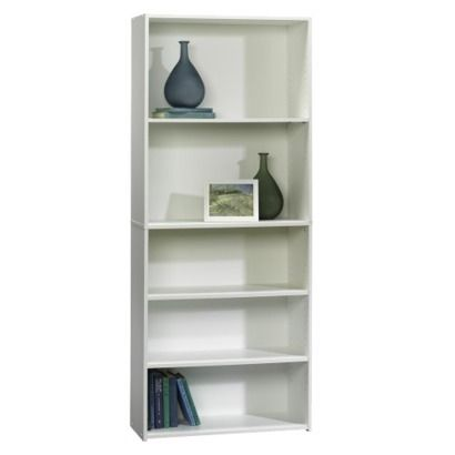 target room essentials 5 shelf bookcase white apartment 5 shelf bookcase white. Black Bedroom Furniture Sets. Home Design Ideas