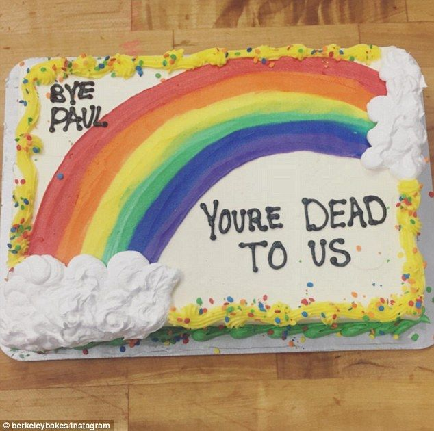 The hilarious (and harsh) farewell cakes people have ...