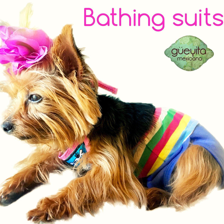 Instant Download Crochet Pattern Dog Bikini Top And Ruffle Skirt
