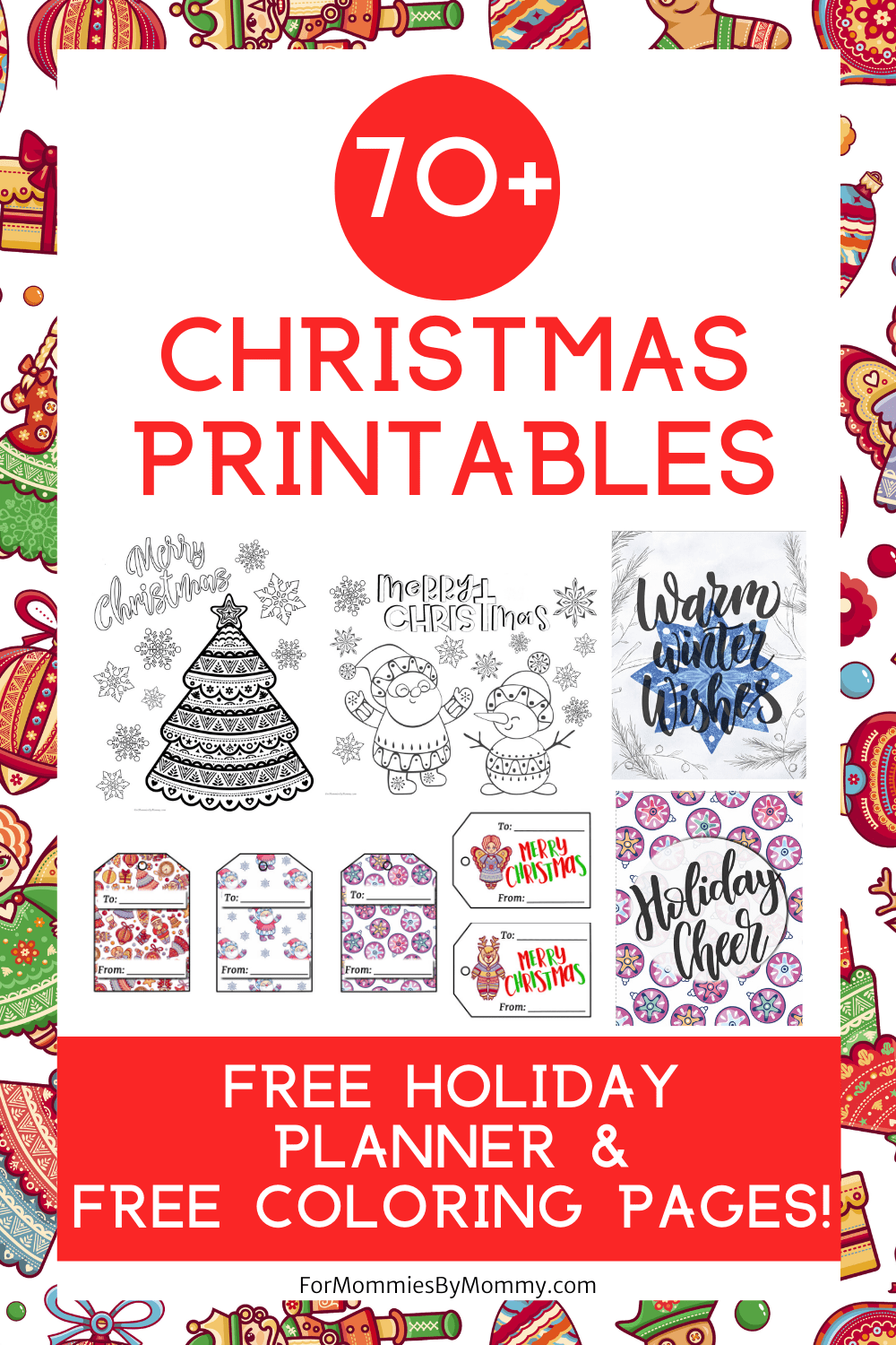Free Christmas Printables And A Jolly Christmas Bundle Free Christmas Printables Free Christmas Coloring Pages Christmas Printables