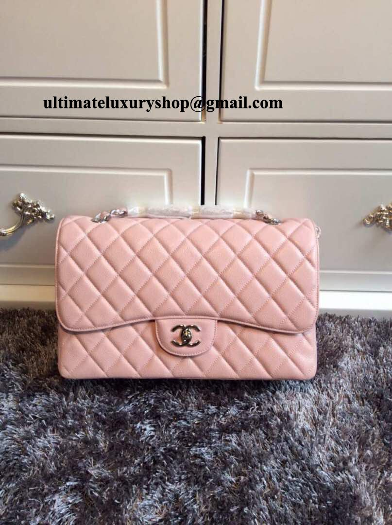 79a1d79442ce Authentic Quality Perfect 1 1 Mirror Replica Chanel Jumbo Classic ...