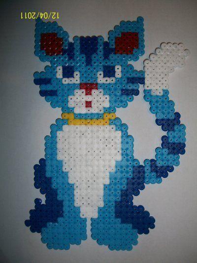 (8) Cat hama beads by les-perles-hama | CATS | Pinterest