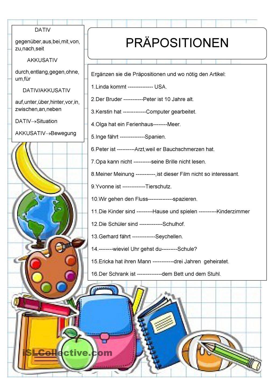 wiederholung pr positionen learn english deutsch lernen deutsche grammatik und deutsch. Black Bedroom Furniture Sets. Home Design Ideas