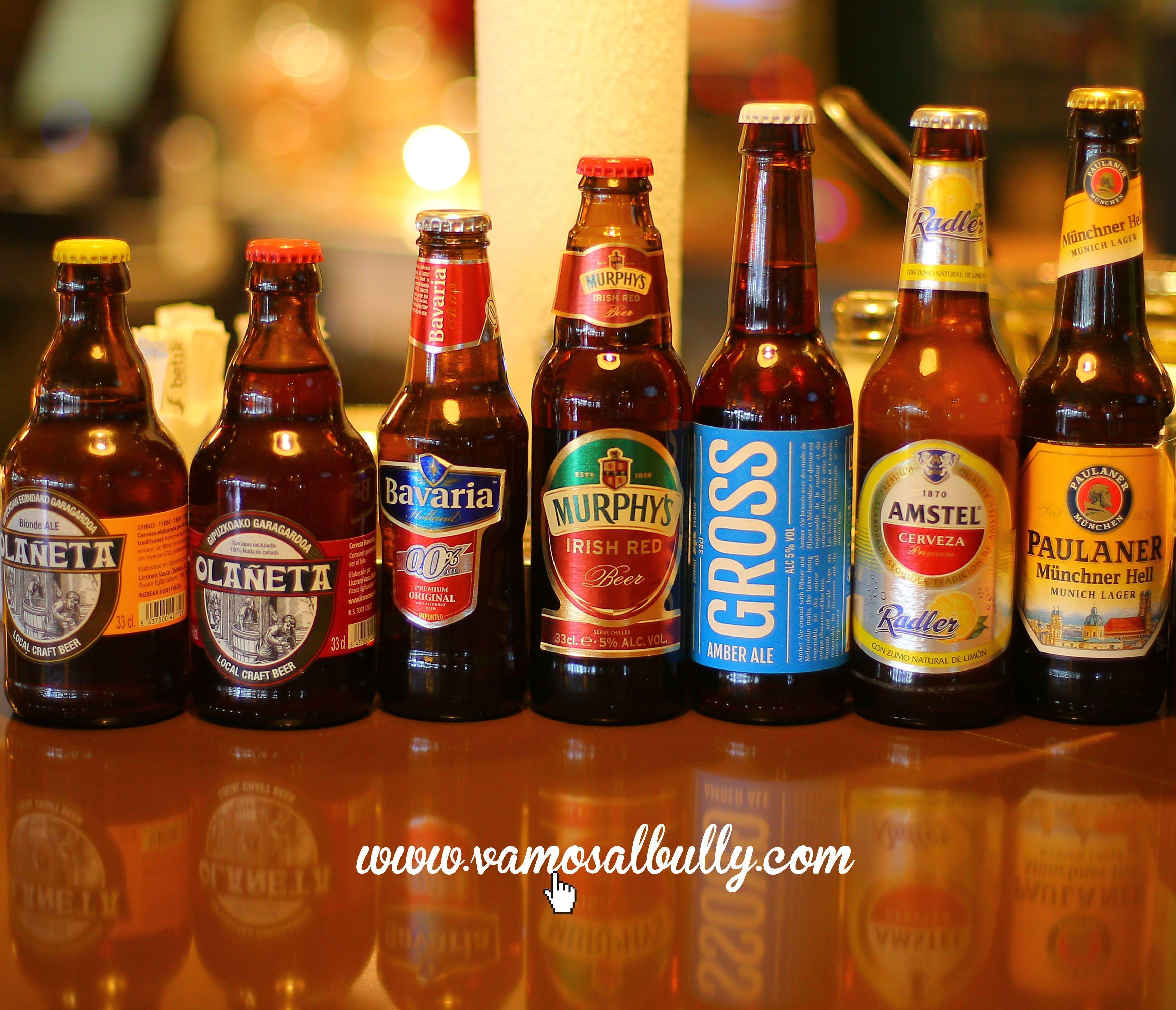 El #vamosalbully #donostia #sansebastian os desea un muy feliz fin de semana. Venga a por esa cervecita especial que os la habeis ganado! Tu con cual vas a acompañar tu cena de hoy?