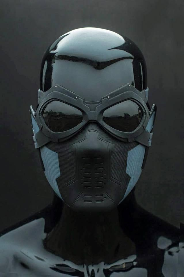 1 1 The Winter Soldier Bucky Barnes Cosplay Mask Goggles Set Winter Soldier Mask Winter Soldier Winter Soldier Bucky