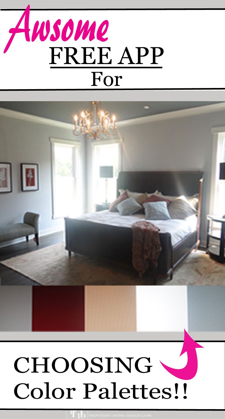 Room Interior Design App: Choosing Color Palettes With Adobe Color CC App