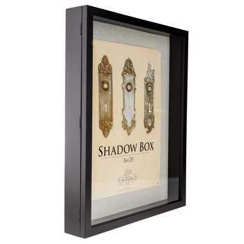 16 X 20 Black Front Loading Shadow Box Shadow Box Hobby Lobby Shadow Box Shadow Boxes
