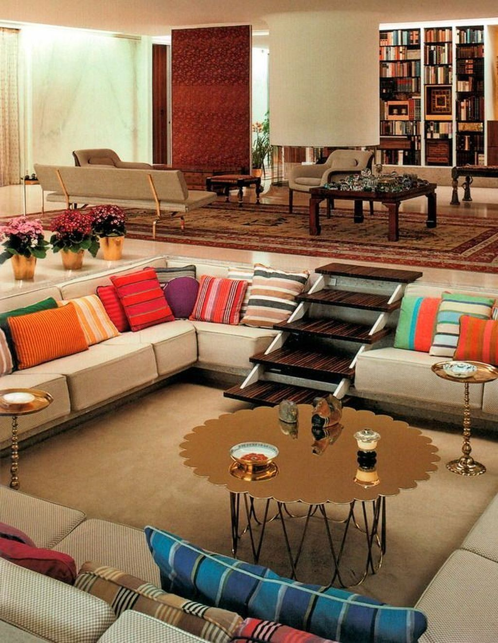 50 Modern Living Room Design Ideas: 50 Pretty Sunken Living Room Design Ideas