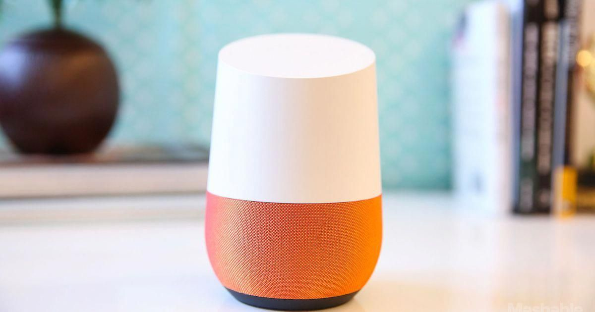 thirst Google home, Amazon echo, Mashable