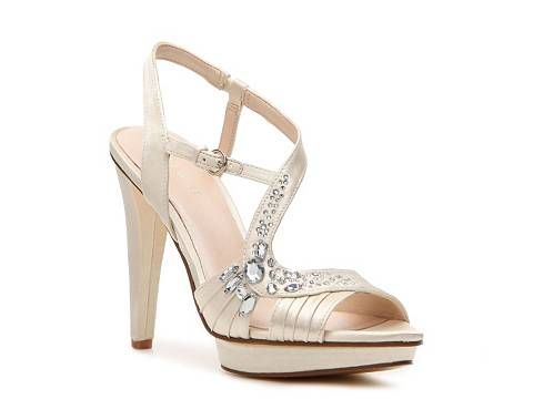 official site super quality outlet Nine West Speak Easy Sandal Bride Wedding Shop Women's Shoes ...