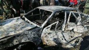 Car bomb blast kills Syria's provincial governor  Governor of Syria's Hama province Anas al-Naem was killed on Sunday when a booby-trapped car went off in Garajmeh district, media reported.