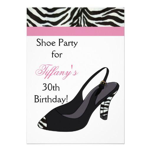 Shoe party Invitation – Shoe Party Invitations