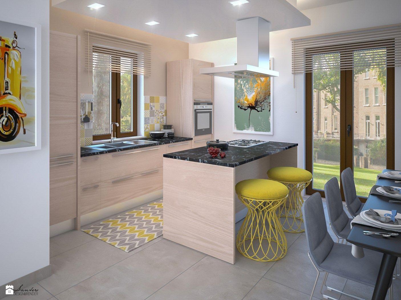 Cucina stile Moderno - pubblicato da Santoro Design Render ...