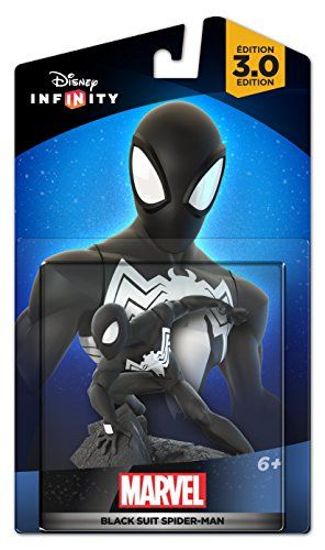 Disney Infinity 30 Edition Marvels Black Suit Spiderman Figure Want Additional Info Click On The Disney Infinity Disney Interactive Disney Infinity Figures