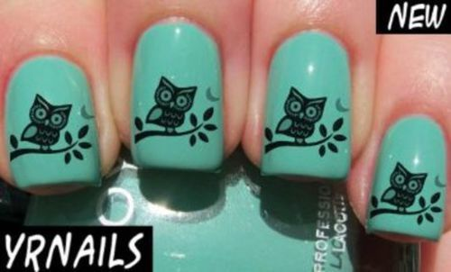 Owl Nail Design Must Have Nails Pinterest Owl Nail Designs