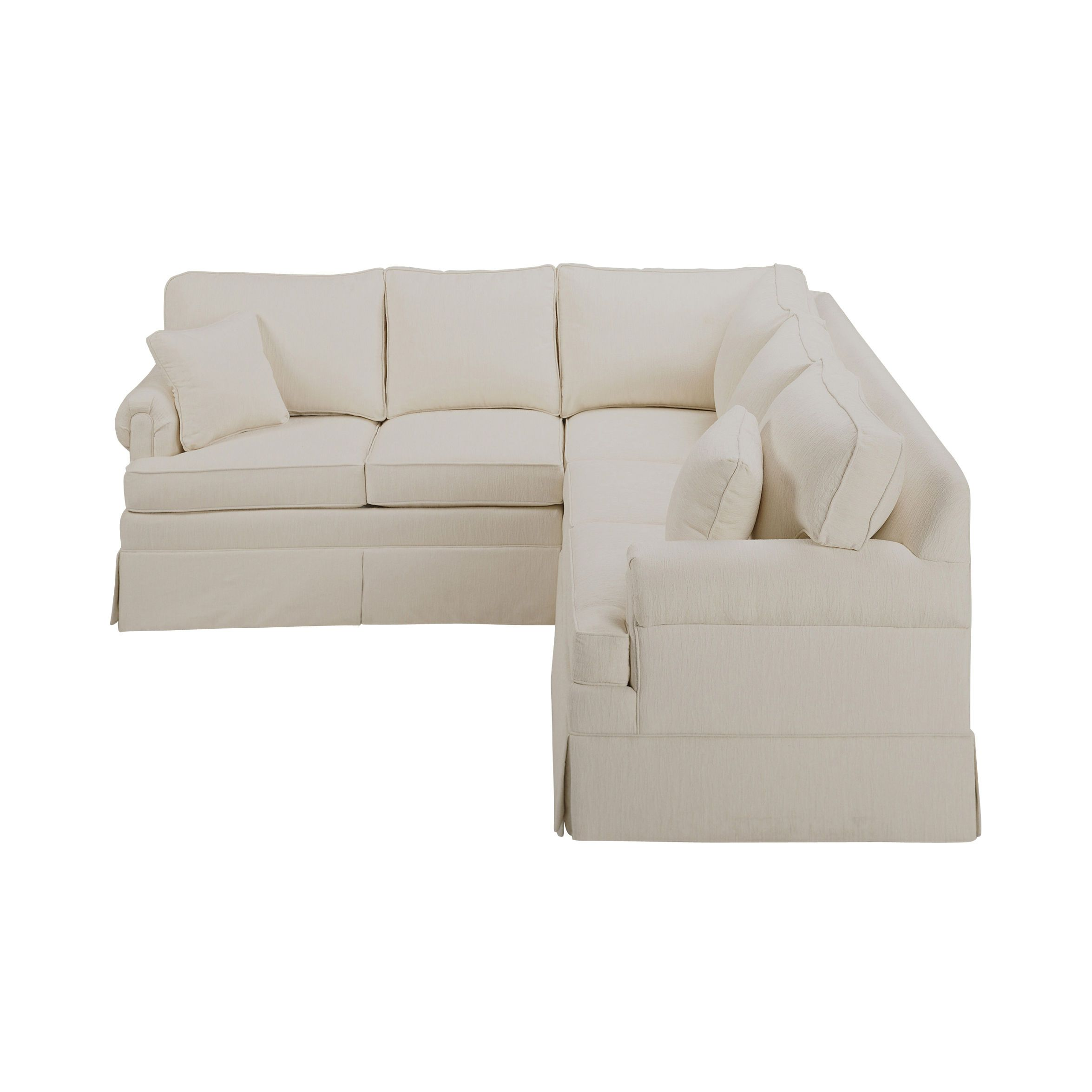 Ethan Allen Leather Sectional