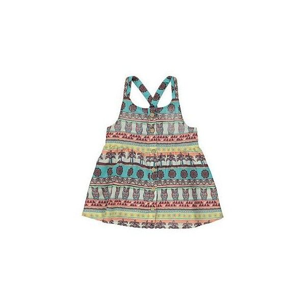 Aztec Print Summer Top | Girls | George at ASDA ($9.11) ❤ liked on Polyvore