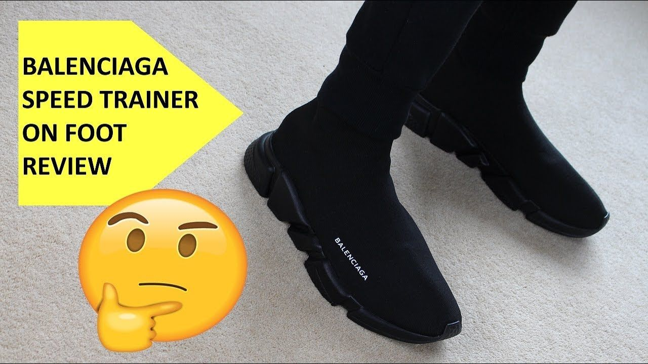 Are Balenciaga Speed Trainers Worth it