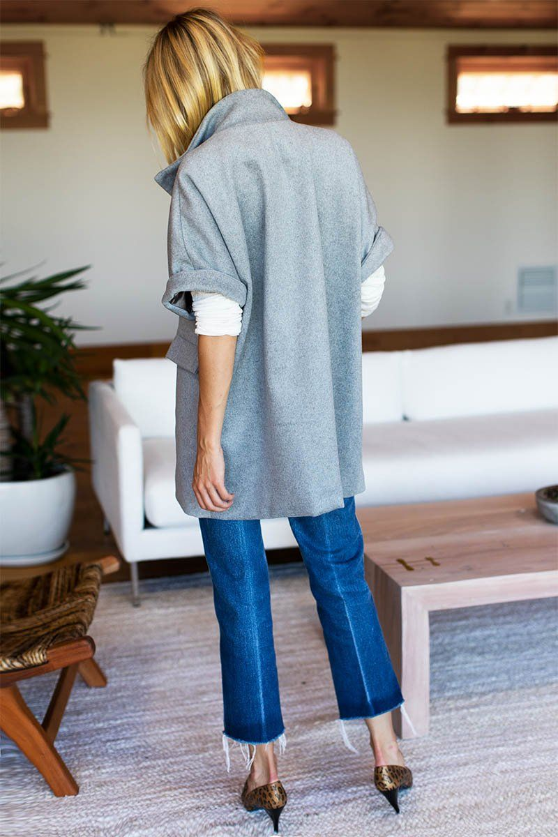 Layering Jacket - Grey