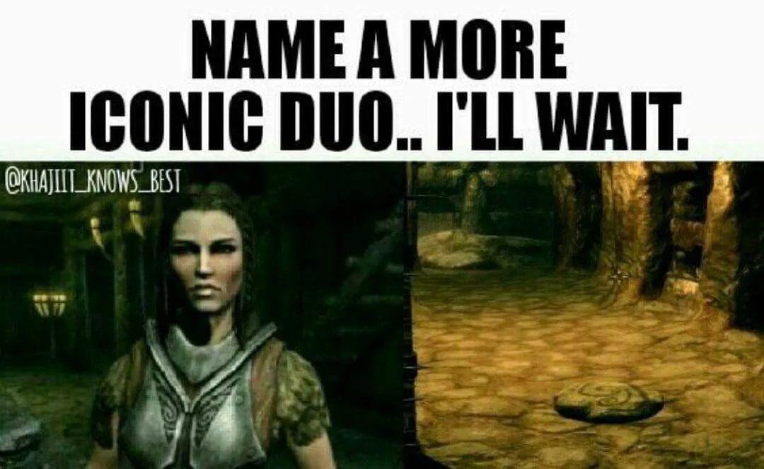 Lydia Is The Legitimate Worst Especially For Anything Stealth Skyrim Funny Skyrim Memes Elder Scrolls Memes