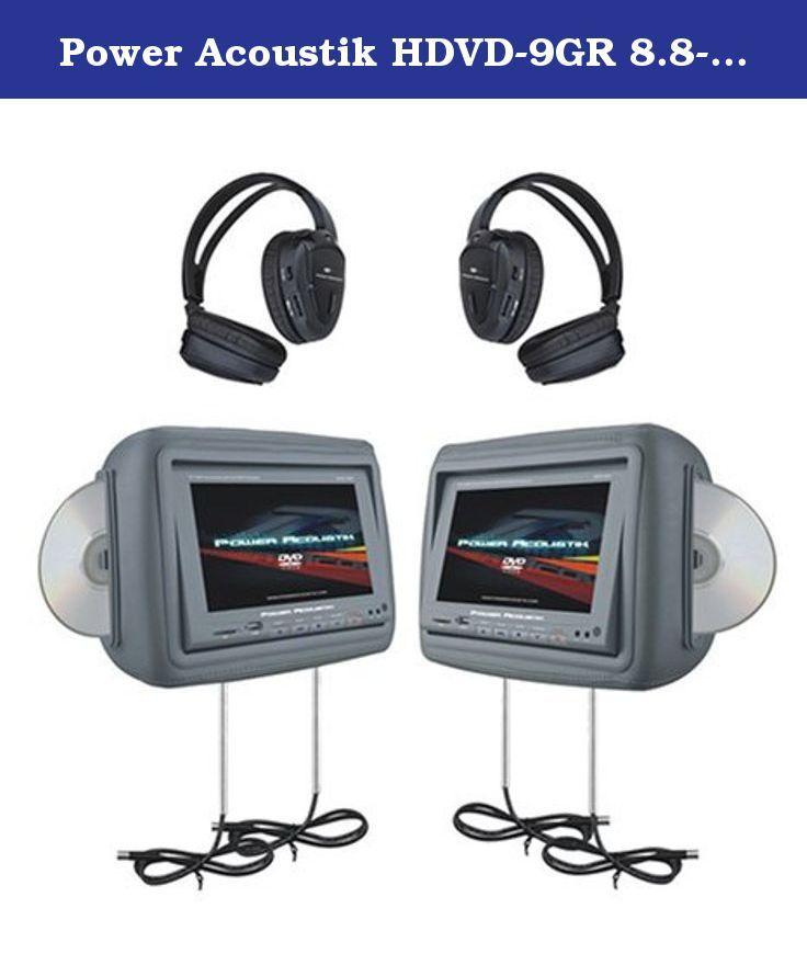 Power Acoustik Hdvd 9gr 8 8 Inch Pre Loaded Universal Headr