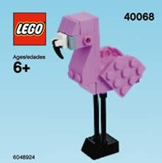 REMINDER: FREE LEGO Flamingo Mini Model Build at Lego Stores Today on http://www.icravefreebies.com/