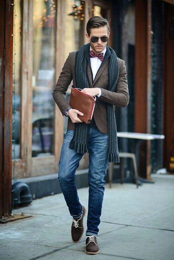 Casual Jeans Papillom Abbigliamento Elegante Vestiti Uomo TKclF1J