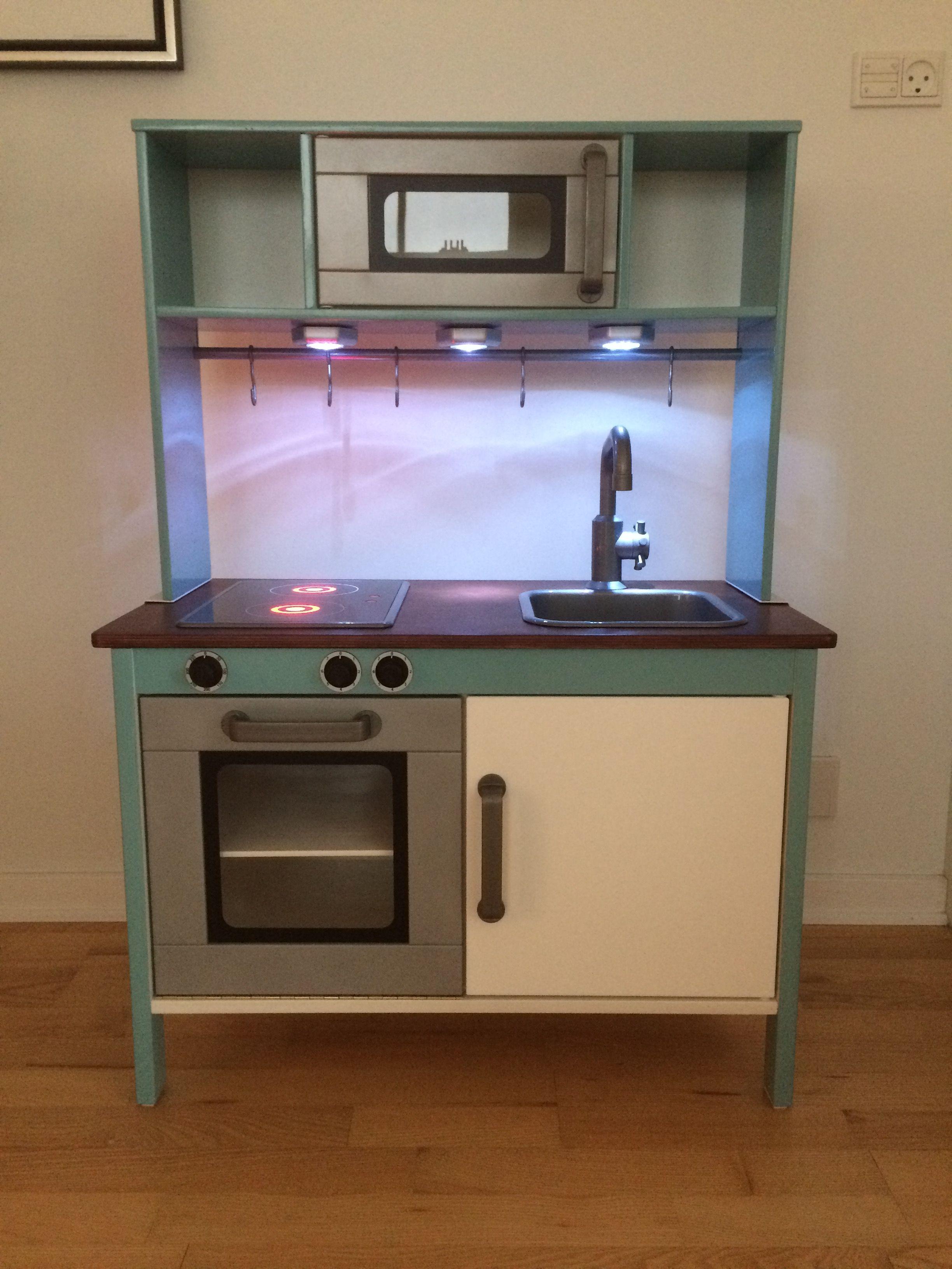 ikea duktig kitchen diy for our son august christmas 2014 bunny pinterest. Black Bedroom Furniture Sets. Home Design Ideas