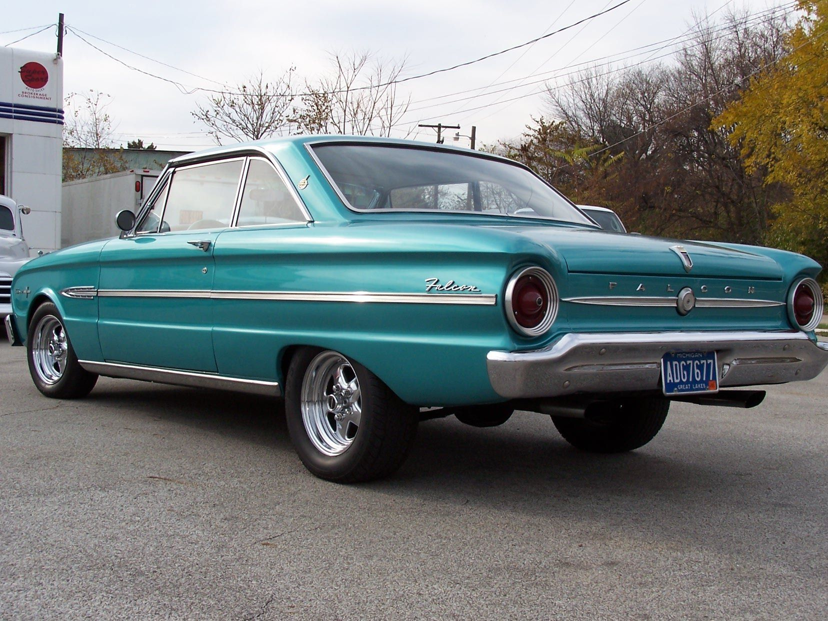 1963 ford falcon futura sprint classic hot rod rods